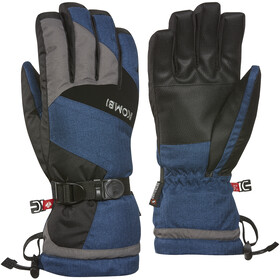 KOMBI Original Gloves Herre Dark Denim Melange